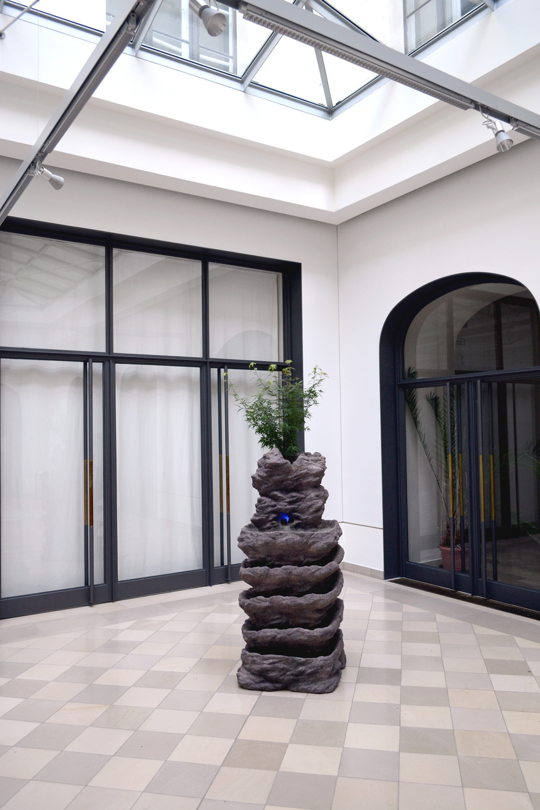 Michel Aniol Skulptur Occiriental Lounge Kleine Humboldt Galerie Berlin Kunst