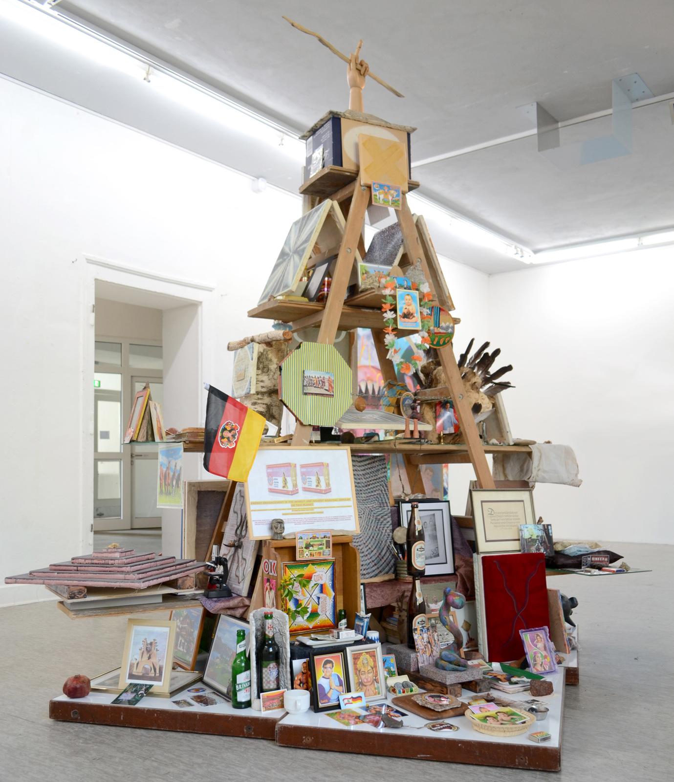 Michel Aniol Objects Installation Art Artist