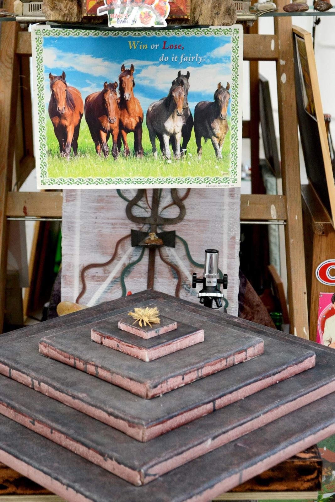 Michel Aniol Objects Installation Art Artist Tower